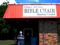 Eastern's Church of Christ Bible Chair