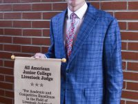 Johnson named All American livestock judger; first All American since 2005